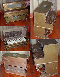 rare jouet ancien ancien piano jouet napoleon iii 1852 1870 old toys ebay another toy. Black Bedroom Furniture Sets. Home Design Ideas