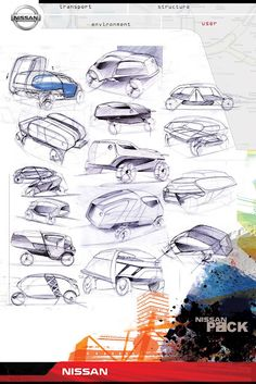 Nissan Pack project | Car Design Education Tips