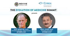 "It's ""Doctor Weekend"" during the Evolution of Medicine Summit! Sunday Sept 14 the topic will be ""It's All Connected""- The Gut as the Center of Evolutionary Health. Dr. David Perlmutter Neurologist and author of The New York Times Bestseller, ""Grain Brain,"" will be speaking on the topic of The Evolution of #Neurology: Gut Brain Connection. Cyrex Labs Chief Scientific Advisor, Dr. Aristo Vojdani will discuss the Evolution of #Immunology."