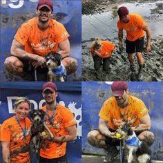 David James Gandy -   Brilliant day had by all and great amounts of money raised for Battersea Dogs & Cats Home at The #MuddyDogChallenge