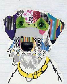 collage doggy