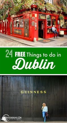 "Travel plans in the capital city of Ireland? Check out our post ""24 Free Things to Do in Dublin"" for all the must see attractions and what to do in Dublin on a budget. #budgettravelideas #irelandtravel"