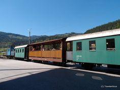 Passenger train at the Breitenau Railway, Austria