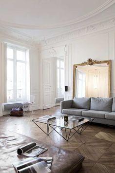 Un appartement haussmannien