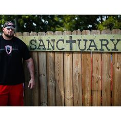 """Sanctuary.  Behind these walls lay the hearts minds bodies and souls of 16 men and 3 women. They live in tents and several """"tiny houses"""" they maintain the property they wake up each day one step closer to getting to where they ultimately want to be. They wake up with a purpose.  Yesterday I had the opportunity to spend some time with these folks and make a difference this morning my friend Simon and I went back and helped make a difference in their lives again with clothing from my closet…"""
