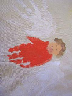 Angel Handprint Craft