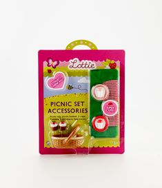 Lottie Dolls Picnic Set Accessories - see more at: http://www.lottie.com/collections/all-products/products/picnic-accessory-set