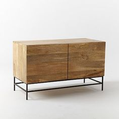 Rustic Storage Media Console – Small, 48 inches (only 4 inches shorter than the other size) $630 plus shipping