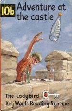 10b ADVENTURE AT THE CASTLE Vintage Ladybird Book Key Words Matt Hardback Peter & Jane