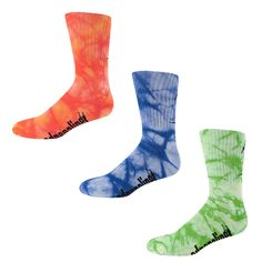 Tie dye adrenaline lacrosse socks. And that's how it's done.