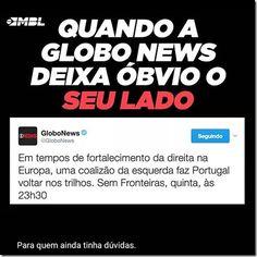 RS Notícias: O lado esquerdopata da Globo News