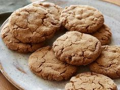 Cookies de Gengibre - Food Network