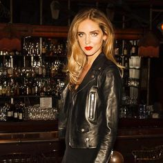 Party harder and beautiful influencer @chiaraferragni is fond of our new it-lipstick range, VERNIS À LÈVRES VINYL CREAM. It smoothes, hydrates and perfects your lips in a flash, for you to party all night long. Regram @chiaraferragni  Credits: Hair & makeup by Nikki DeRoest, photos by Nikko Lamere, shot at Chateau Marmont, LA.  #yslbeauty #dareandstage #chiaraferragni #theblondesalad #makeup #vinylcream #playthevinyl #lipstick #redlips
