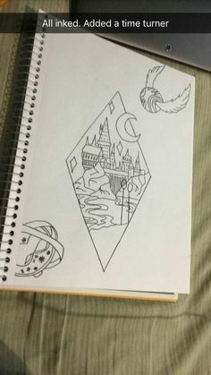 Harry Potter tattoo idea done by Nicole Burgess #TattooIdeasDisney