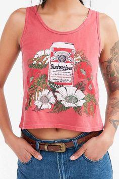 7114a5caca347 Junk Food Budweiser Hawaii Tank Top - Urban Out Rocker Outfit