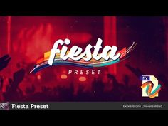 (7) Fiesta Preset - Videohive After Effects Intro Preset [Free Preset+Download Link] - YouTube