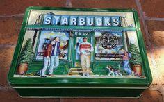 Starbucks Collectors Tin - First Store Rare