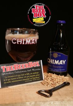 Chimay Blau Grand reserve Trappist Chimay Bélgica  BeerBox nota de Cata