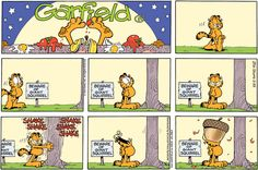 Garfield Comic 1
