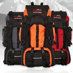 Men and women 50L outdoor hiking camping trips hiking backpack shoulder movement field backpack  orange * Check out this great product.
