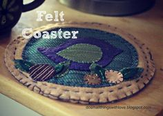 Small Things: Felt Coaster