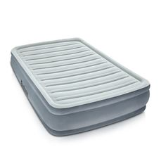 Air Mattress Inflatable Bed w/ Electric Pump Camping Guests Double