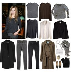 Capsule wardrobe #8 by eizhowa on Polyvore featuring Isabel Marant, Zadig & Voltaire, rag & bone, STELLA McCARTNEY, Steven Alan, Joie, Burberry, rag & bone/JEAN, Nobody Denim and Chanel