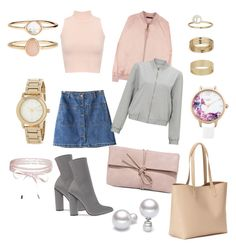 """""""Affordable summer peach"""" by molly-elliott-i on Polyvore featuring WearAll, Chicnova Fashion, Miss Selfridge, LULUS, Old Navy, Accessorize, DKNY, Lipsy and Boohoo"""