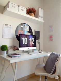 Organizar y decorar un rincón de trabajo | Decorar tu casa es facilisimo.com