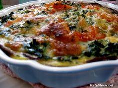 Spinach Souffle Recipe - Missi Roti