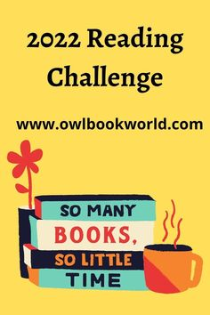 Looking for a 2022 reading challenge with a community? Look no further! I have created the OBW Reading Challenge along with a Facebook group so we can talk about what books we read each month. Make sure to join us!