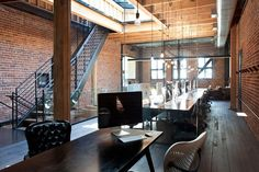 How stunning is this corporate office space?