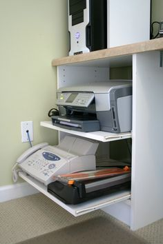 pullouts for printers