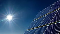 A energia solar é uma alternativa sustentável a energia elétrica.
