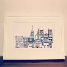 London Buildings Illustration