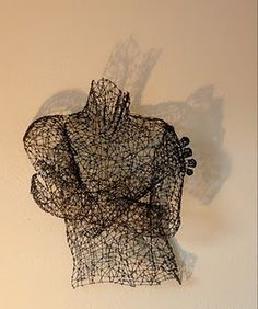 artist Kristine Mays who also does wonderful dress wire sculptures