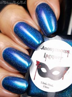 """Anonymous Lacquer - """"Shifters and Werechcickens"""" - Hella Holo Customs - released December 2016"""