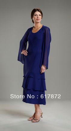 plus size Mother Of The Groom Dresses | Compare Tea Length Dresses with Sleeves-Source Tea Length Dresses with ...