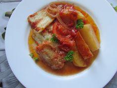 Greckie smaki: Dorsz z piekarnika, czyli bakaliaros plaki
