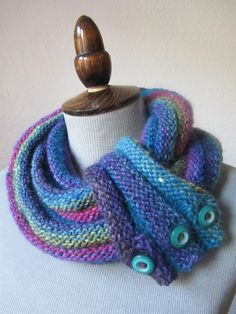 Free Pattern: reversible cowl with optional cuff