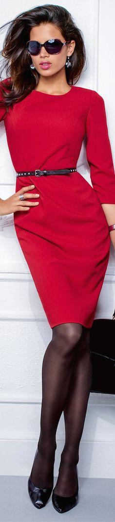 #fallintofashion14 & #mccallpatterncompany Madeleine Fall 2014 ● MADELEINE SHEATH DRESS