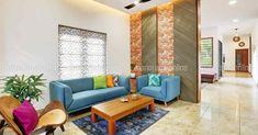 വീതി കുറവ് ഒരു കുറവേ അല്ല; ഇതാ ഉദാഹരണം! | small space home | small plot house plans kerala | Home Plans Kerala | House Plans Kerala | Home Style | Manorama Online Best Home Design Software, My Home Design, Kerala House Design, Kerala Houses, Home Living Room, Small Spaces, Home Goods, Family Room, House Plans
