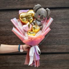 Balloon Decorations Party, Birthday Decorations, Valentines Gifts For Boyfriend, Valentine Gifts, Valentines Balloons, Flower Box Gift, Balloon Arrangements, Balloon Gift, Beautiful Baby Shower