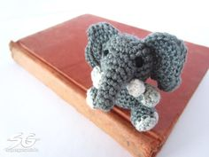 Amigurumi Elefant sitzend