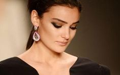 Merve Büyüksaraç, a model and former Miss Turkey in 2006, faces two years in   prison for 'insulting' the Turkish president