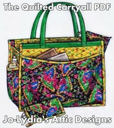 How to Add a Zippered Lining to a Bag - Free Tutorial by Sweet Verbena | PatternPile.com