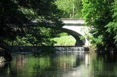 Hyde Park NY - Vanderbilt Mansion - Vanderbilt White Bridge