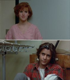 The Breakfast Club (1985) Claire Standish (Molly Ringwald) and John Bender (Judd Nelson)