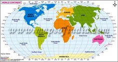 The world map in urdu language with current country boundaries buy large map of world continents map highlights the world continents north america south america africa europe asia and australia gumiabroncs Images