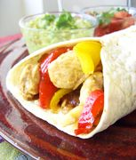 I still remember the first time I had fajitas. It was about 10 years ago and I was visiting some Greek friends in their lovely Marylebone apartment for the weekend. We were getting peckish after ho… Vegan Recipes, Cooking Recipes, Vegan Food, Chicken Fajitas, Healthy Lifestyle, Sandwiches, Dinner, Tortillas, 10 Years